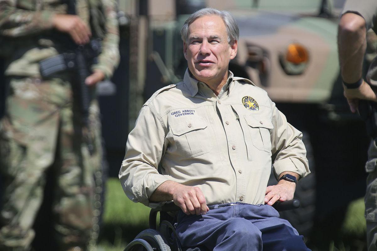 Texaský guvernér Greg Abbott