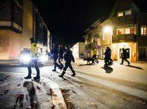 Nórsko útok polícia