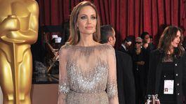 Angelina Jolie požičala dcére svoje oscarové šaty. Ako pristal model Zahare Jolieovej?