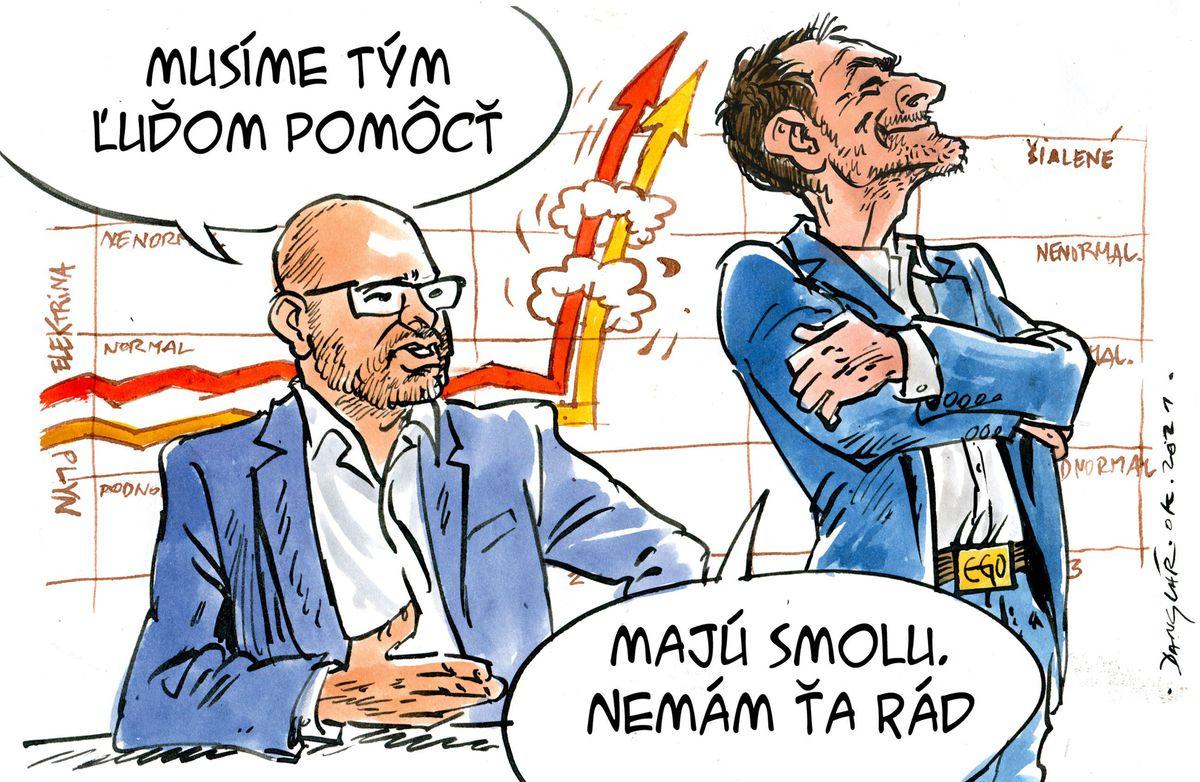 Karikatúra 23.10.2021